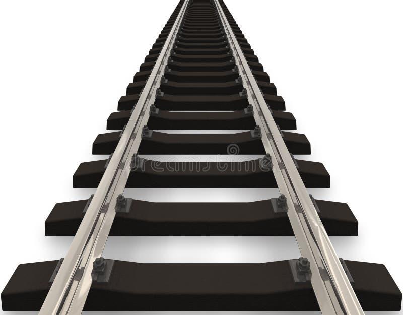 Concepto del ferrocarril libre illustration