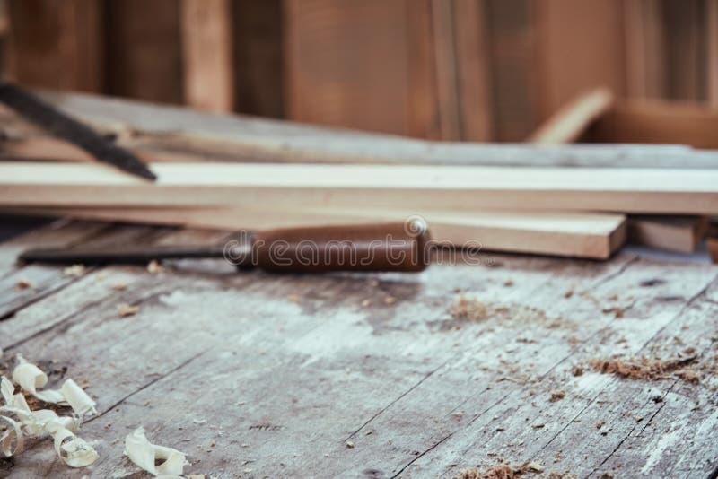 Concepto del fondo de la carpintería con el espacio de la copia imágenes de archivo libres de regalías