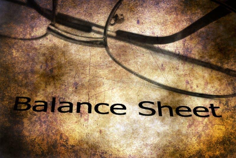 Concepto del grunge del balance imagen de archivo