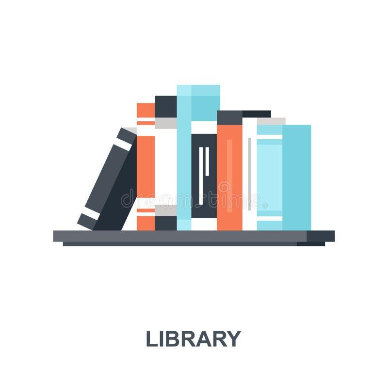 Concepto del icono de la biblioteca libre illustration