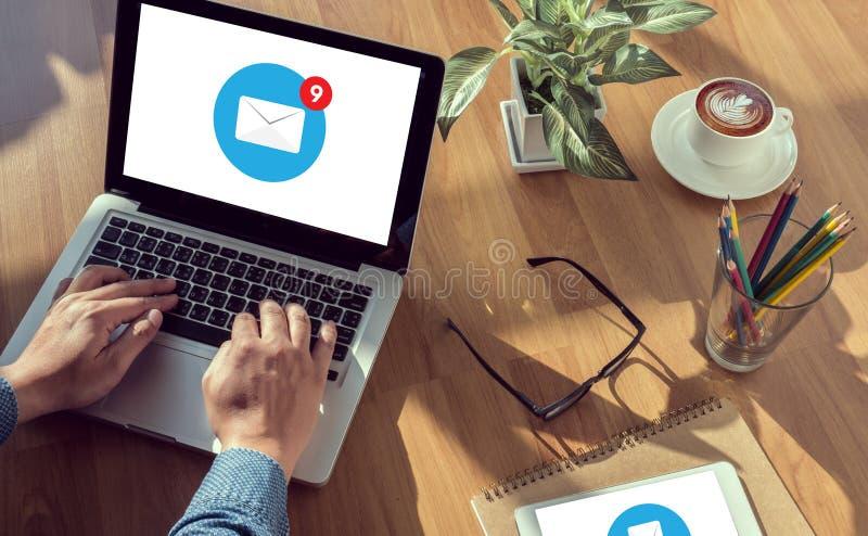 Concepto del icono del correo electrónico fotos de archivo libres de regalías