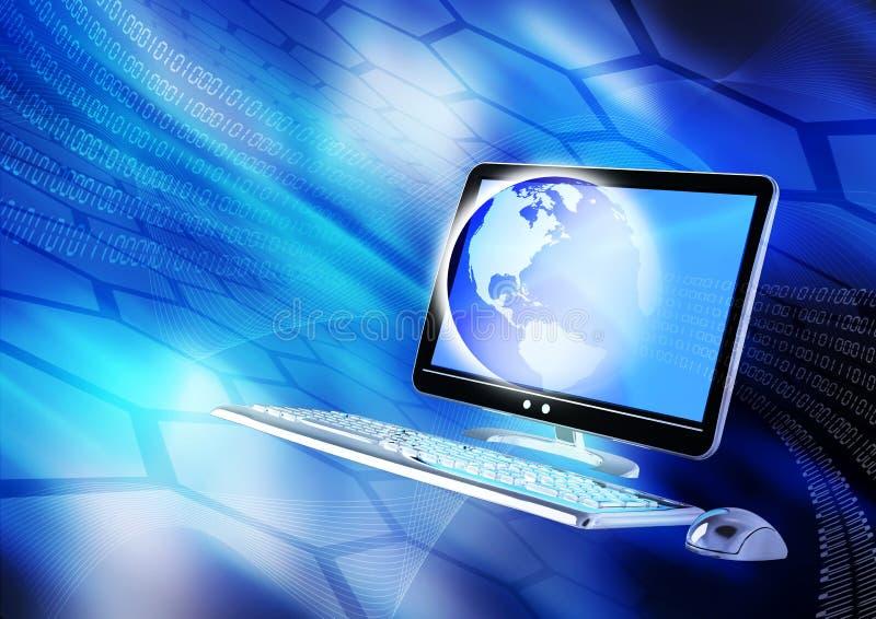 Concepto del Internet stock de ilustración