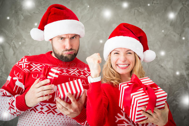 Concepto del invierno del día de fiesta de Navidad de la Navidad foto de archivo libre de regalías