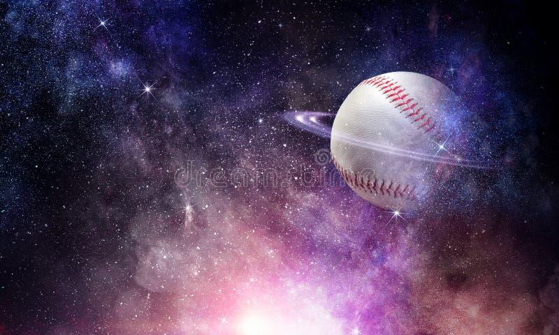 Concepto del juego de béisbol imagen de archivo