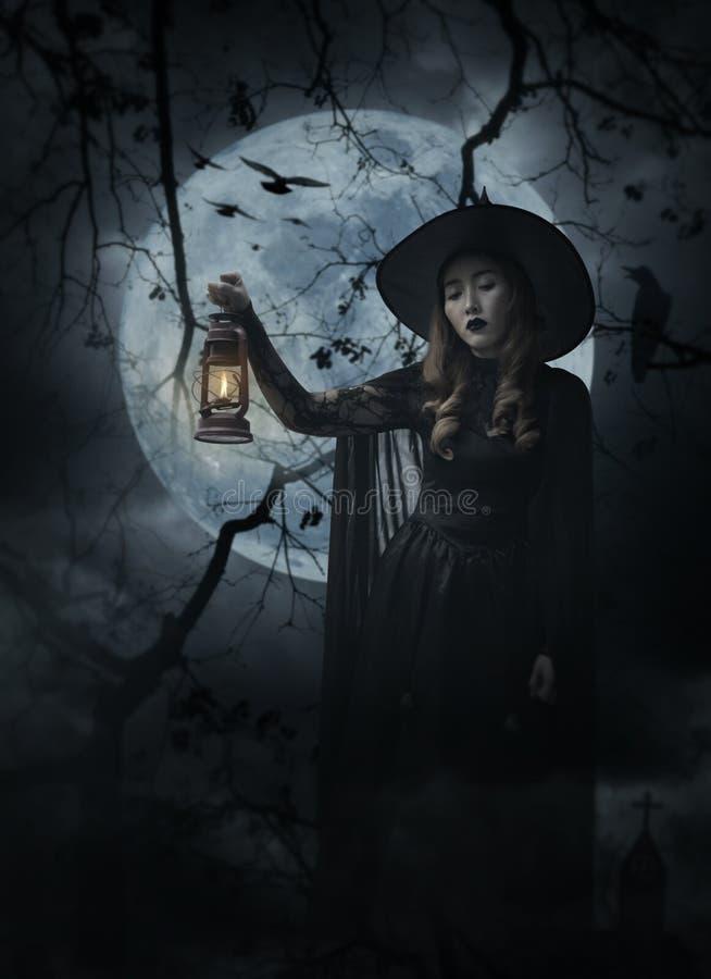 Concepto del misterio de Halloween imagen de archivo libre de regalías