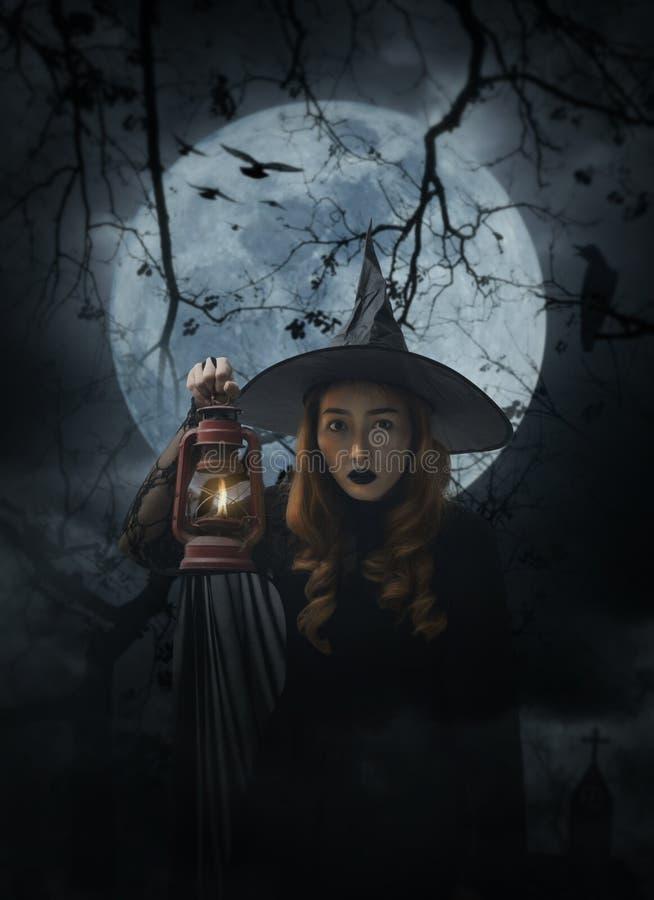 Concepto del misterio de Halloween imágenes de archivo libres de regalías