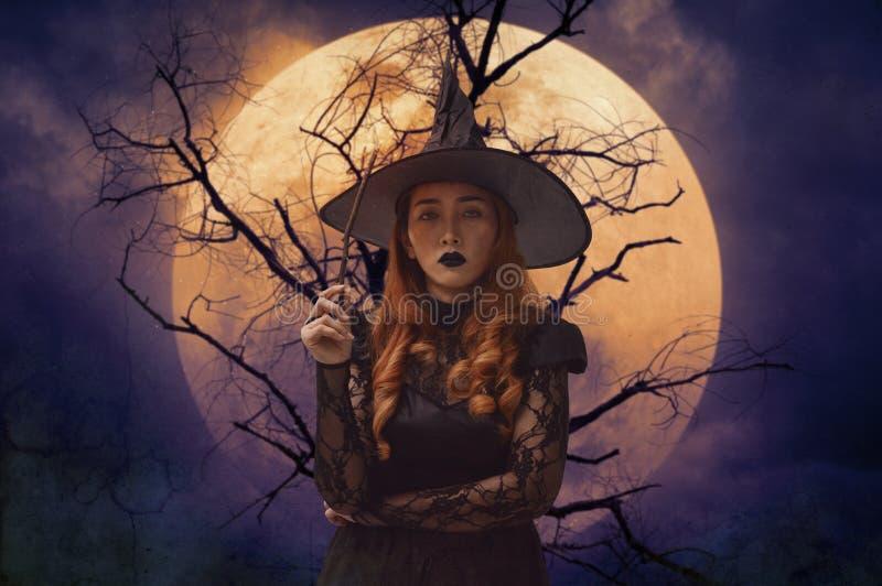 Concepto del misterio de Halloween fotos de archivo