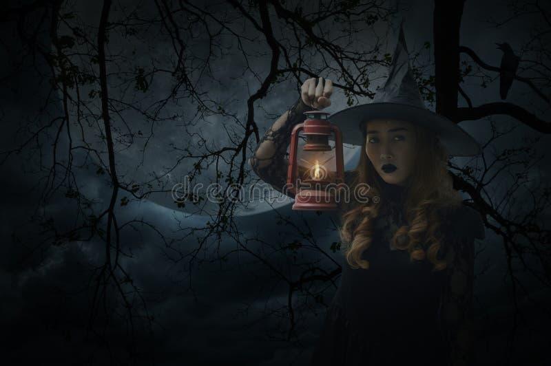 Concepto del misterio de Halloween foto de archivo libre de regalías