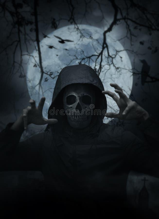 Concepto del misterio de Halloween fotos de archivo libres de regalías