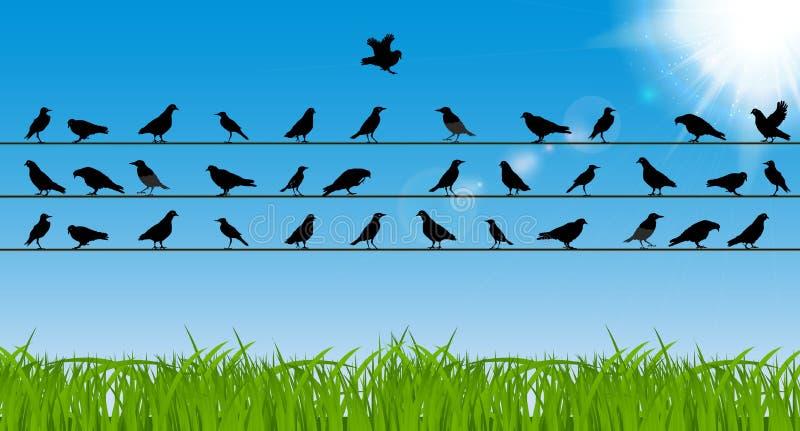 Concepto del negocio de independencia individual, determinación stock de ilustración