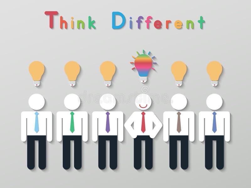 Concepto del negocio de la dirección de la idea stock de ilustración
