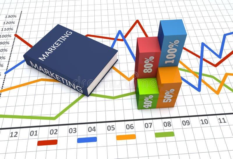 Negocio de la estrategia stock de ilustración