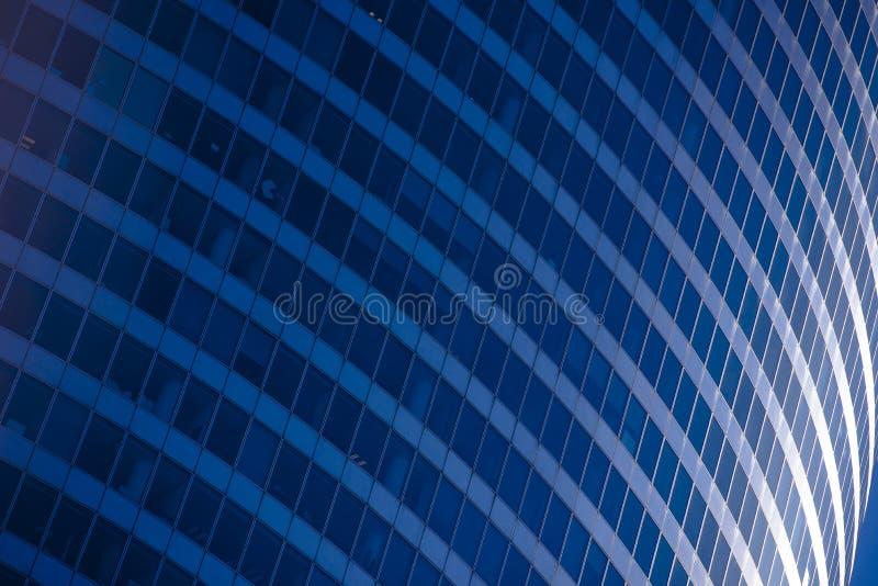 Concepto del negocio - edificio corporativo foto de archivo libre de regalías