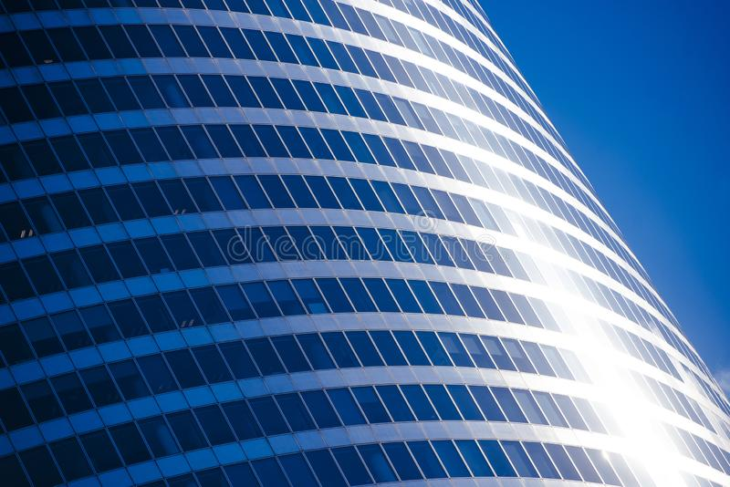 Concepto del negocio - edificio corporativo fotografía de archivo libre de regalías