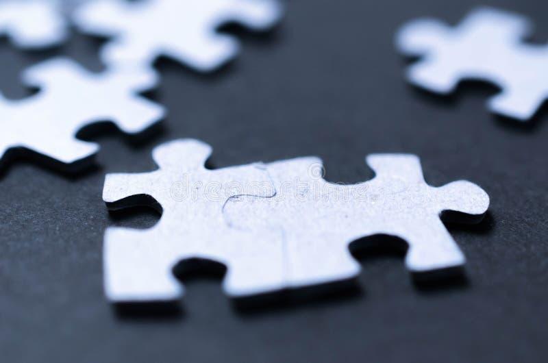 Concepto del negocio del equipo del rompecabezas imágenes de archivo libres de regalías