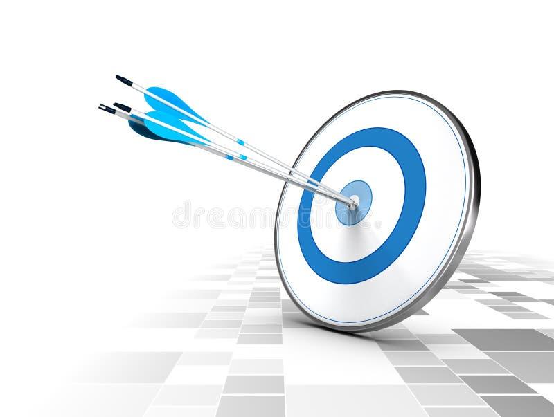 Concepto del negocio o de la estrategia corporativa ilustración del vector