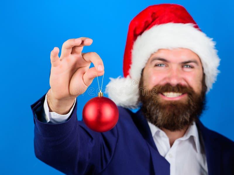 Concepto del negocio y de la Navidad Oferta del hombre de negocios usted se une a la preparación de la Navidad Oferta especial de fotografía de archivo libre de regalías