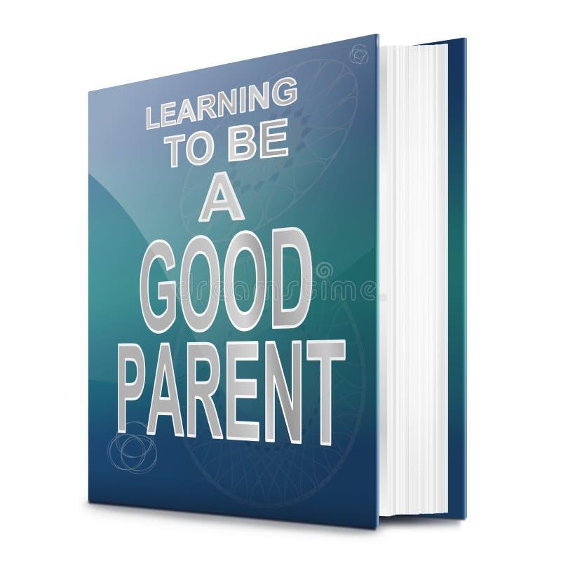Concepto del Parenting. stock de ilustración