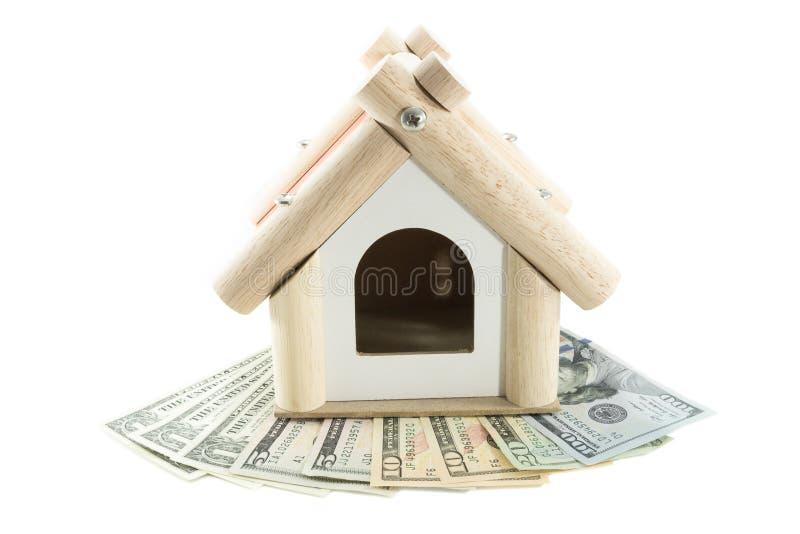Concepto del préstamo hipotecario imagen de archivo libre de regalías