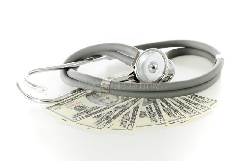 Concepto del precio del cuidado médico imagen de archivo