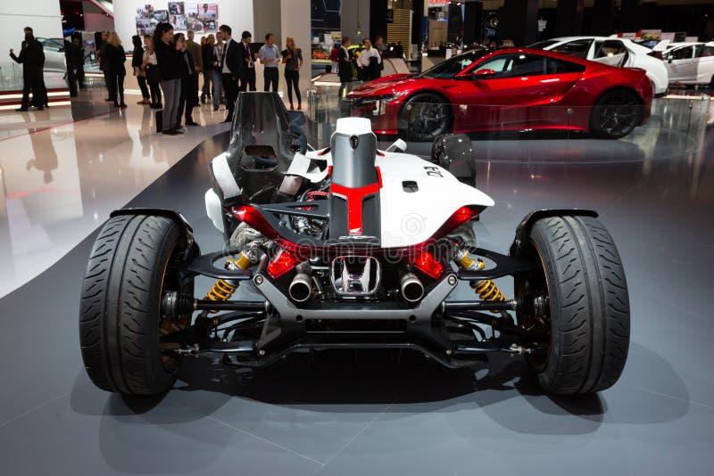 Concepto 2015 del proyecto 2&4 de Honda fotos de archivo