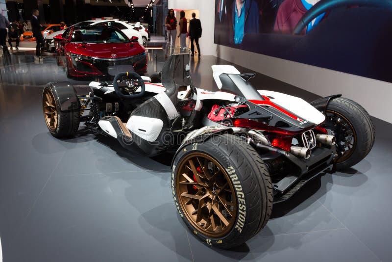 Concepto 2015 del proyecto 2&4 de Honda imagen de archivo libre de regalías