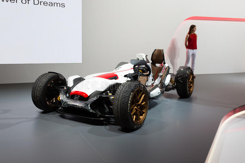 Concepto 2015 del proyecto 2&4 de Honda foto de archivo