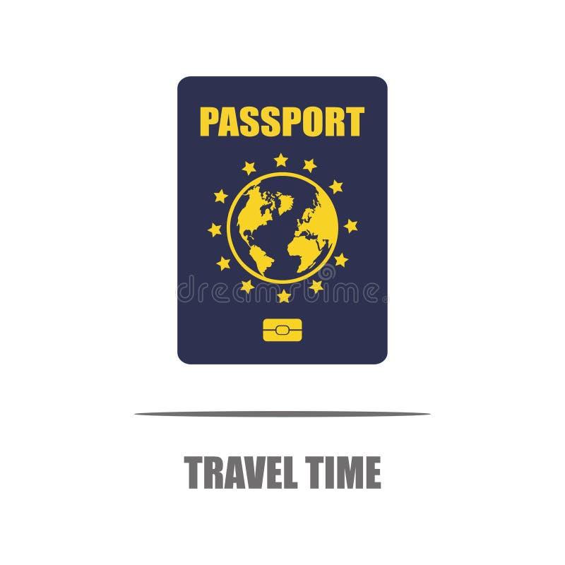 concepto del recorrido Viaje en todo el mundo ilustración del vector