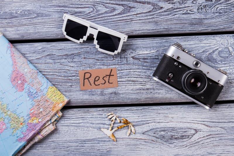 Concepto del resto y de las vacaciones fotos de archivo