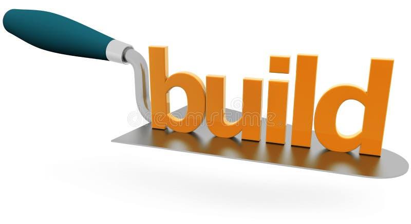 Concepto del sector de la construcción ilustración del vector