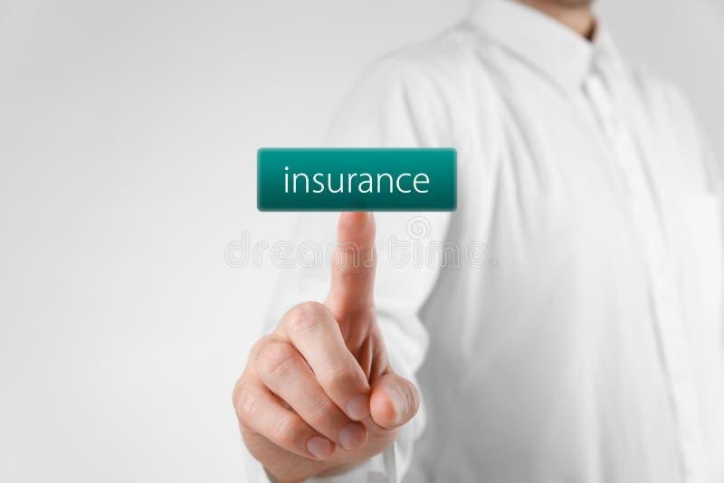 Concepto del seguro foto de archivo