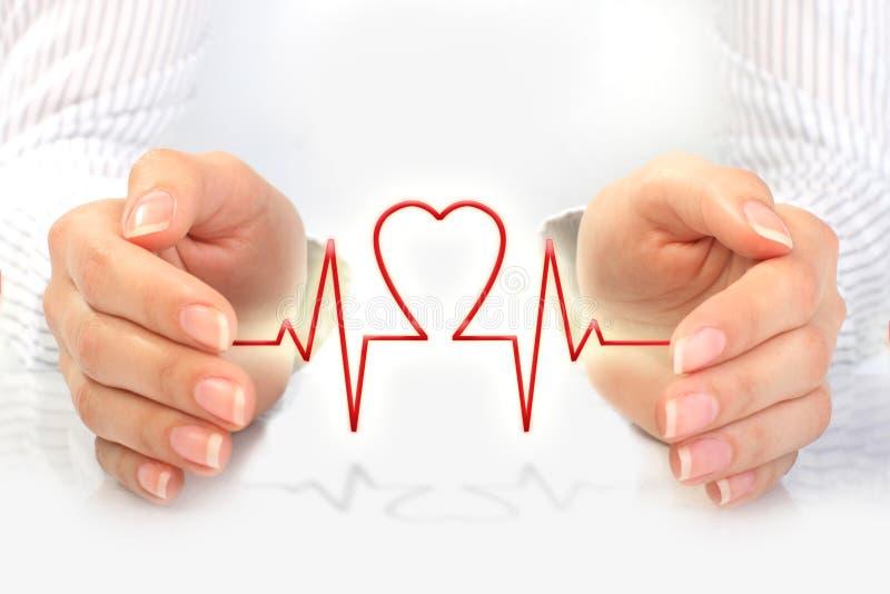 Concepto del seguro médico. imagen de archivo