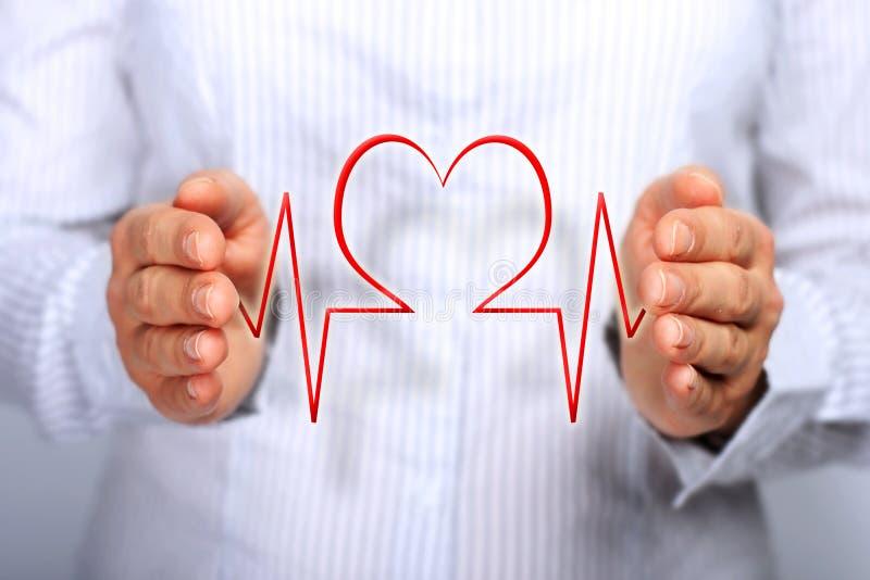 Concepto del seguro médico. fotos de archivo