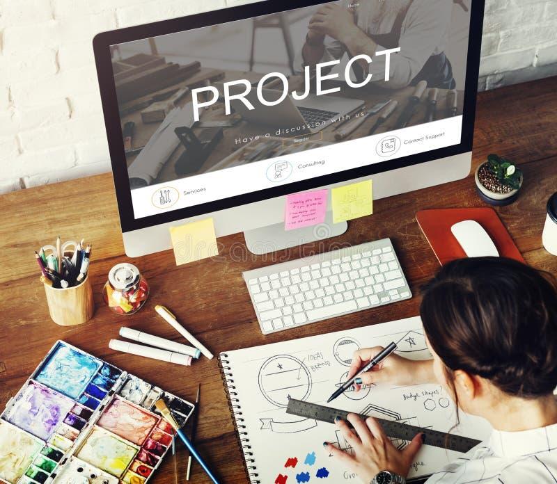 Concepto del sitio web del diseño de la construcción de la reparación de la renovación fotos de archivo libres de regalías