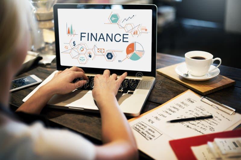 Concepto del sueldo acreedor de la deuda del dinero de las finanzas imagenes de archivo