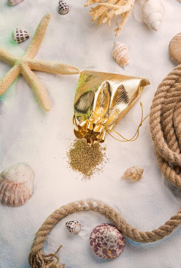 Concepto del tesoro del mar imagen de archivo libre de regalías