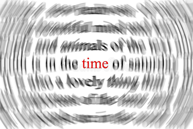 Concepto del tiempo foto de archivo