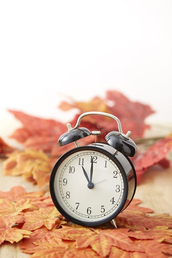 Concepto del tiempo del horario de verano imagen de archivo libre de regalías