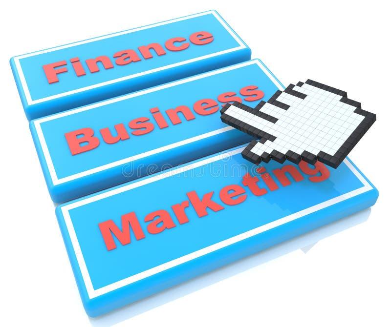 Concepto del web del negocio libre illustration