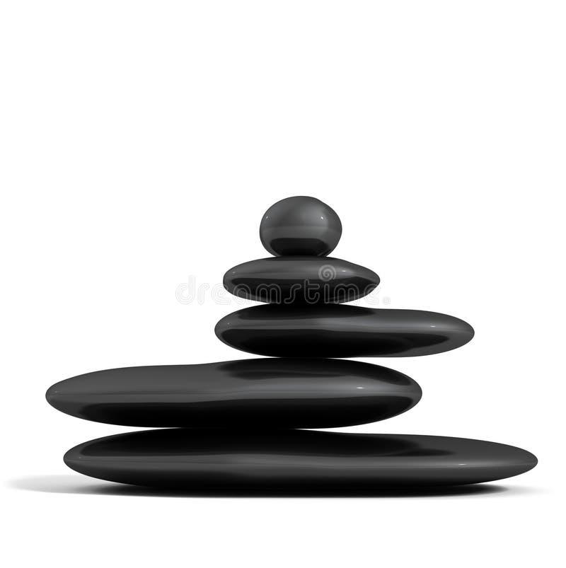 Concepto del zen stock de ilustración
