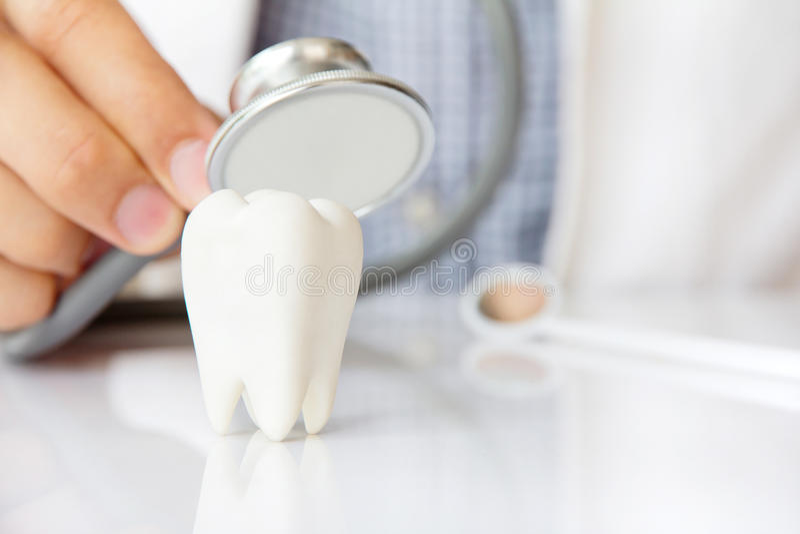 Concepto dental fotos de archivo