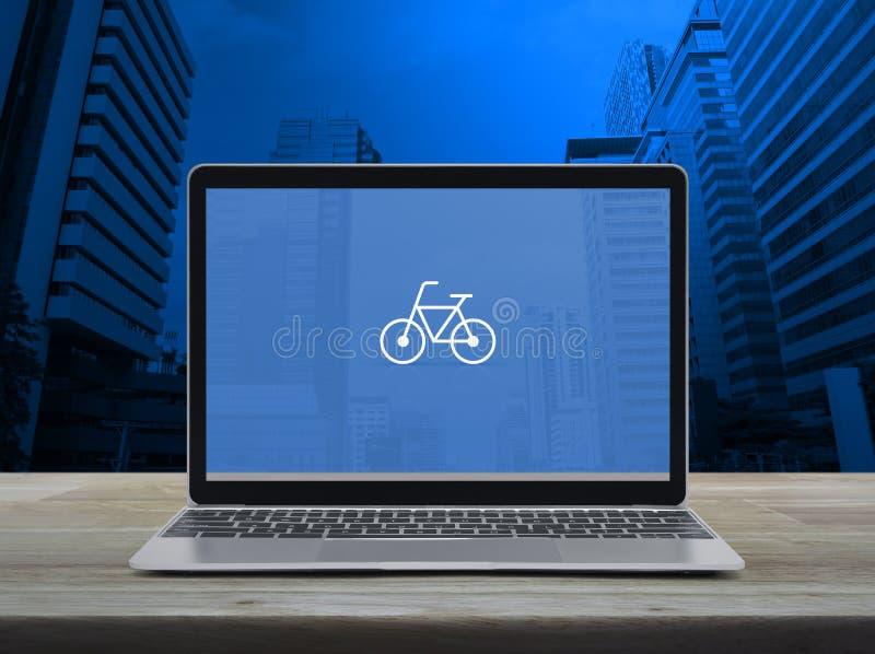 Concepto en línea de la tienda de la bicicleta del negocio libre illustration