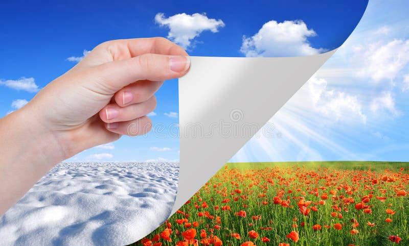 Concepto estacional imágenes de archivo libres de regalías