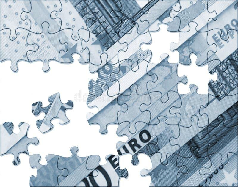 Concepto euro de la economía libre illustration
