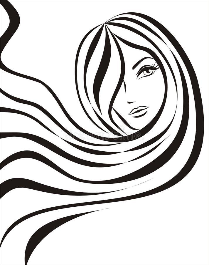 Concepto femenino libre illustration