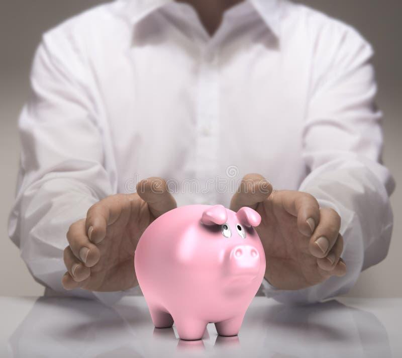 Concepto financiero, ahorrando imagen de archivo