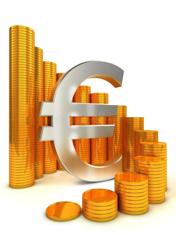 Concepto financiero del éxito libre illustration