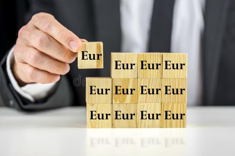 Concepto financiero del plan foto de archivo libre de regalías