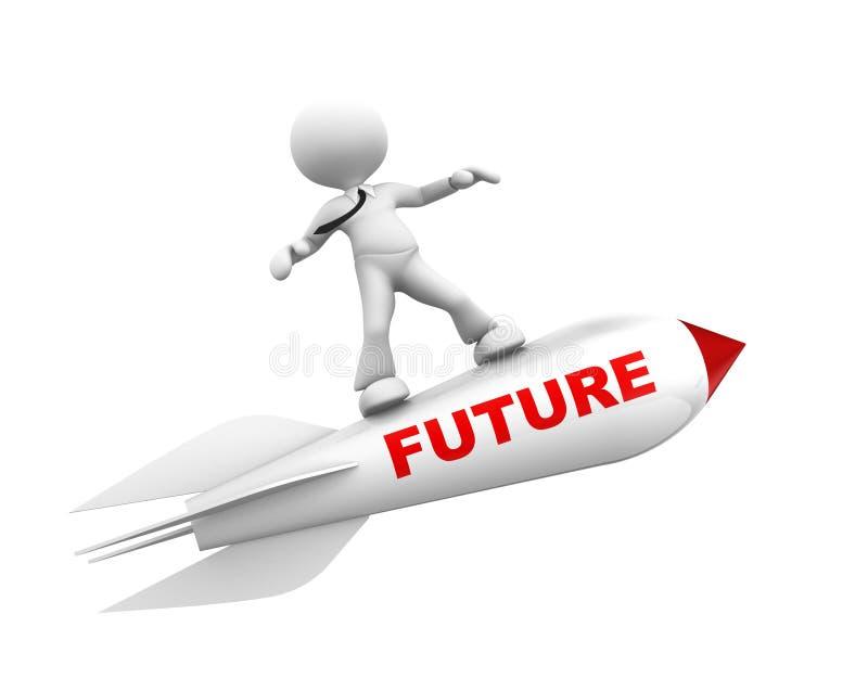 Concepto futuro libre illustration