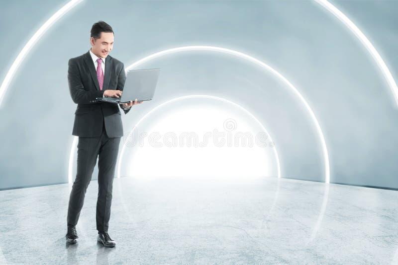 Concepto futuro de la tecnolog?a fotos de archivo libres de regalías